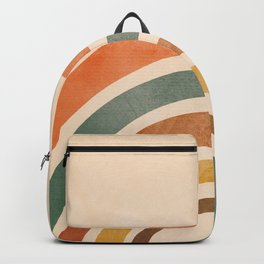Retro Rainbow Backpack