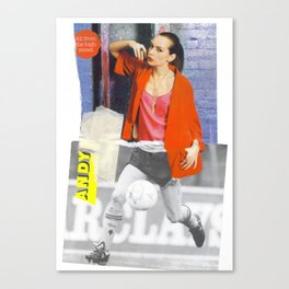 Football Fashion #12 Canvas Print
