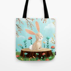 Woodland Friends - Bunny Tote Bag
