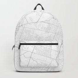 Savannah, United States Minimalist Map Backpack