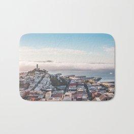 San Francisco Bay Panorama Bath Mat