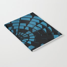 Abstract Dartboard Notebook
