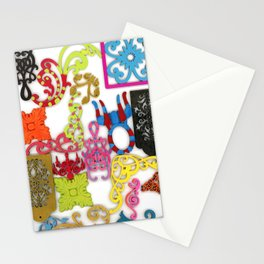 Filigree Collage Stationery Cards