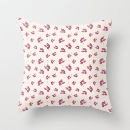 Lotus Flower Pattern Throw Pillow