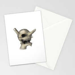 Skull and fingers Stationery Cards