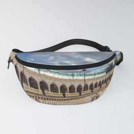 Metro crossing Bercy bridge - Paris Fanny Pack