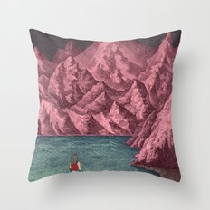 Swimming in your mind Throw Pillow
