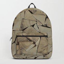 broken glass texture Backpack