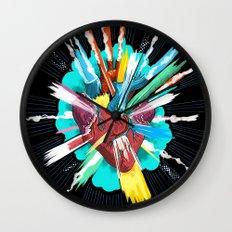 I love you thiiiiis much Wall Clock