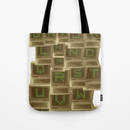 A to Z  Tote Bag