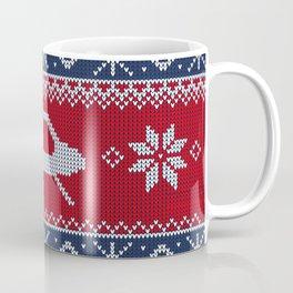 Ugly Saucer Christmas Sweater Coffee Mug