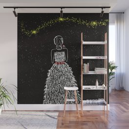 Wish Upon A Christmas Star Wall Mural