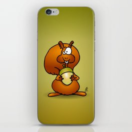 Squirrel iPhone Skin