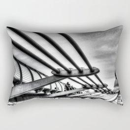 The Millenium Bridge Rectangular Pillow