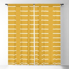 organic / yellow Blackout Curtain