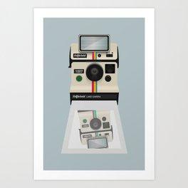 Selfieroid Art Print
