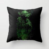 jedi Throw Pillows featuring Jedi Constellation by OktopusSapiens