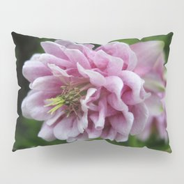 Double Columbine named Pink Tower Pillow Sham