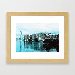 Portsmouth Harbor Framed Art Print
