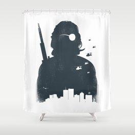 John Carpenter's Escape From New York Shower Curtain