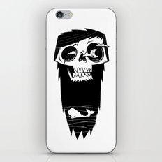 Ghost of a Whaler iPhone & iPod Skin