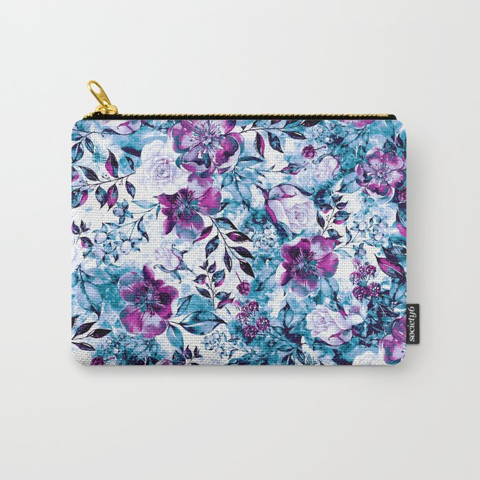 RPE FLORAL BLUE Carry-All Pouch