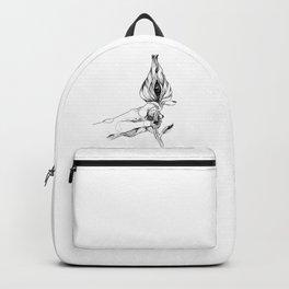 c'est pas une vulve c'est un oeil Backpack