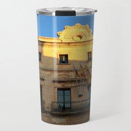 Historical Building on Menorca Travel Mug