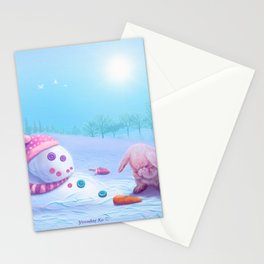 Don't Be Sad Stationery Cards