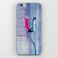 work hard iPhone & iPod Skins featuring hard work by Claudia Drossert