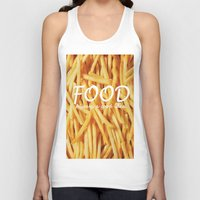 food Tank Tops featuring Food by The Fifth Motion