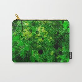 The adventure of green - 2 - psychedelic tropic Carry-All Pouch