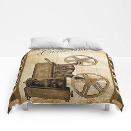 Old Cinema Reels Comforters