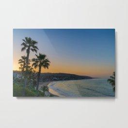 Dawn Over Main Beach Metal Print