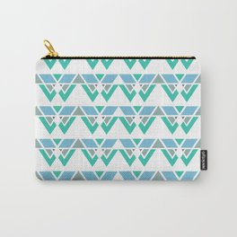 Puzzle Pattern Carry-All Pouch