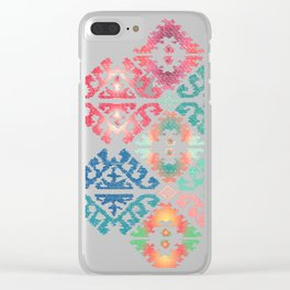 Kilim 2 Clear iPhone Case