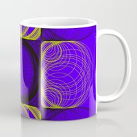 lee pace Mugs featuring spirals pace by Gaspart