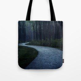 I Must Take the Unforsaken Road Tote Bag