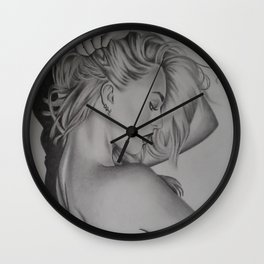 Candice Swanepoel Wall Clock