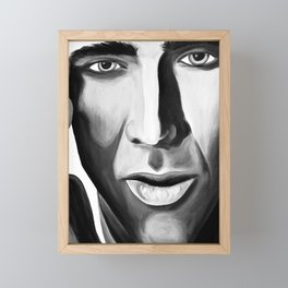 Nicolas Framed Mini Art Print