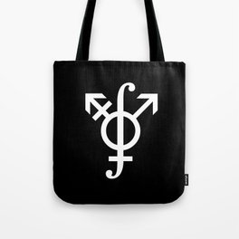 Path Integral on the Gender Manifold (inverted colors) Tote Bag