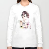 cup Long Sleeve T-shirts featuring cup by tatiana-teni
