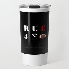 Are You Ready For Some Football (cryptic) - inverted Travel Mug