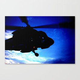 Landing at Sunset Canvas Print