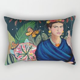 Frida et sa nature vivante Rectangular Pillow