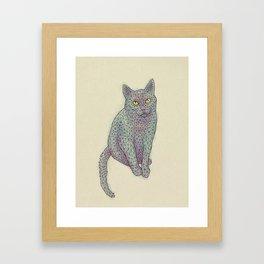 Polycat Framed Art Print
