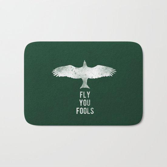 fly you fools Bath Mat