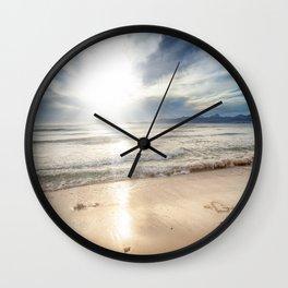 Sunrise Beach Wall Clock