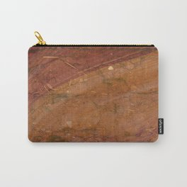 Dirty Rose Gold with Piping on Top Carry-All Pouch