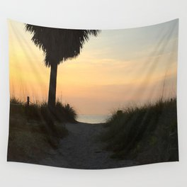 Morning Path to the Ocean Wall Tapestry